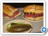 Corned Beef and Pastrami Sandwiches