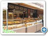 The bakery features everything from sandwiches made on freshly baked baguettes, meringues, pastries, cookies, pies, cakes, and most anything your sweet tooth desires!