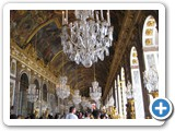 Famed Hall of Mirrors at the Palace of Versailles