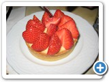 Strawberry Tart at Le Petit Cler
